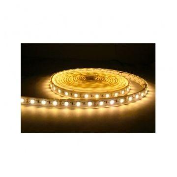 BANDE LED  BLANC 2700°K  5 M  60 LEDS ET 4.8 W / M IP20