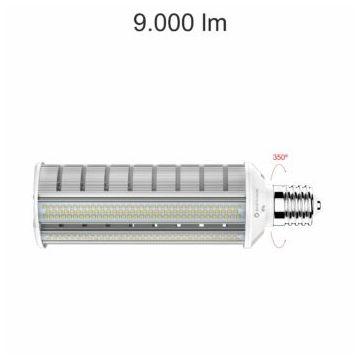 Ampoule LED Alu 60W E40 100-240V 120°