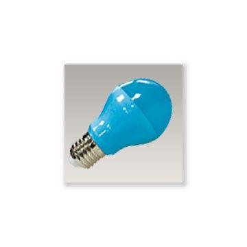 E27 9W bleu