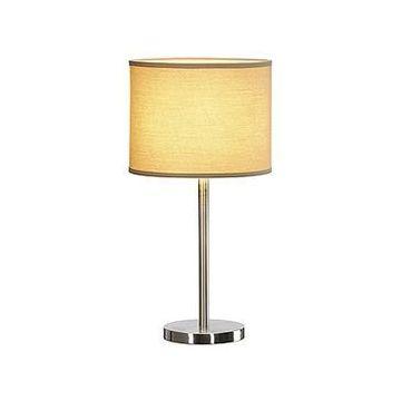 Périmé - alternative : 156041 TENORA TL-1, lampe à poser chrome, diffuseur blanc, E27 max. 60W