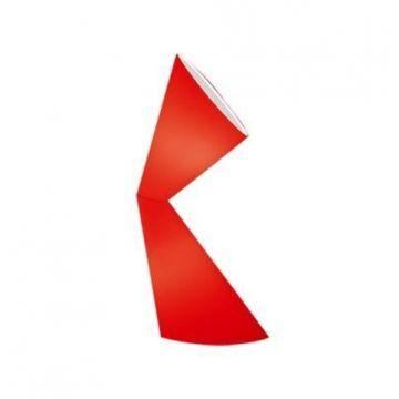 Lampadaire LA LA LAMP Kundalini rouge