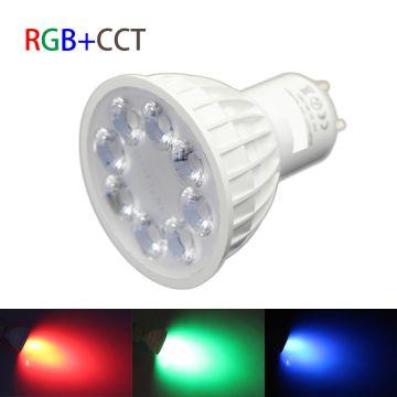 AMPOULE LED GU10 RGBW-W 5W & RF
