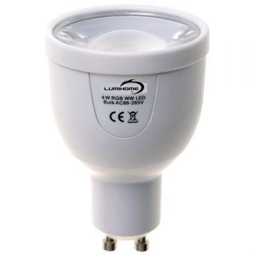 AMPOULE LED GU10 RGBW-W 4W WIFI & RF