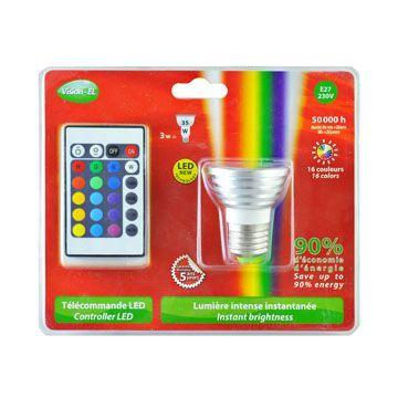 Ampoule LED GU10 RGB