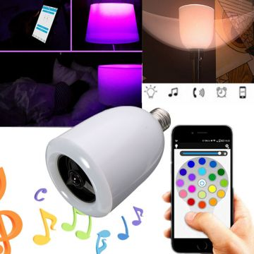 Ampoule LED E27 Bluetooth
