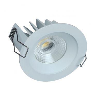 Downlight Fixe LED COBI Gris IP44