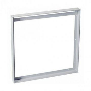 Cadre de montage pour I-VIDUAL LED PANEL, 62x62cm, gris argent