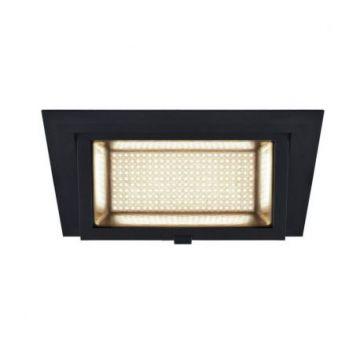 ALAMEA LED, encastré, noir, LED 35W 3000K