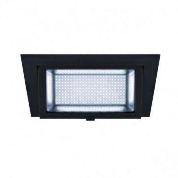 ALAMEA LED, encastré, noir, LED 35W 4000K