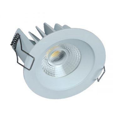 Downlight LED LITED COBI Blanc 10W IP44 4000k + driver ND