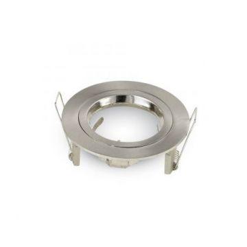 SUPPORT DE SPOT V-TAC ROND ALUMINIUM 81 mm + Chaussette BLM RT2012
