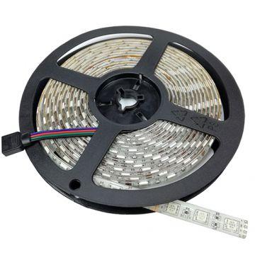 BANDE LED 5050 60 SMD/m RGB NON ÉTANCHE