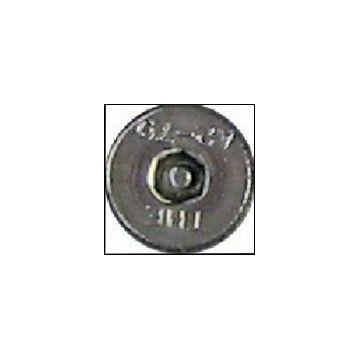Vis hex cent m5x25