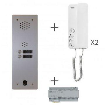 Kit audio 1r 2bp 2 voice programmé
