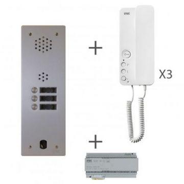 Kit audio 1r 3bp 2 voice programmé