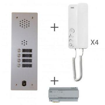 Kit audio 1r 4bp 2 voice programmé