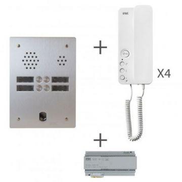 Kit audio 2r 4bp 2 voice programmé