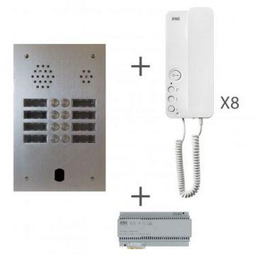 Kit audio 2r 8bp 2 voice programmé