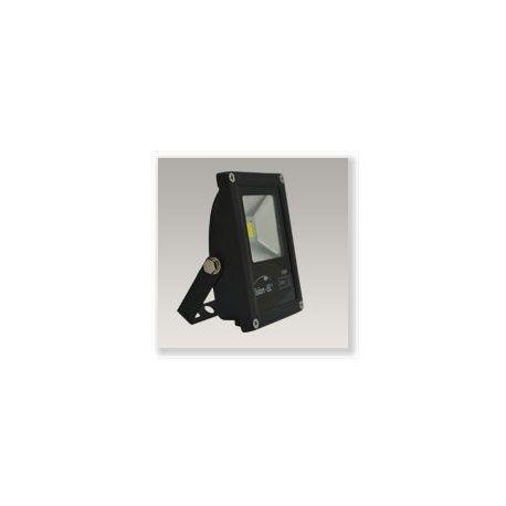 Projecteur LED Plat 10W 6000K Noir VISION-EL 80011N