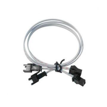 Lot de 2 rallonges filaires 40CM avec connecteur mâle/femelle 2 Pin. (Emballage sachet plastique)