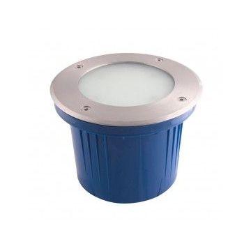 SPOT ENCASTRABLE 144 LED BLANCHES SMD / IP64 / pot d'encastrement inclus. INOX 316 / 700 lumens (emballage boîte)