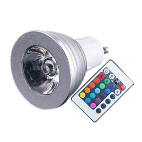 Ampoule LED GU10 LED 4W RGB
