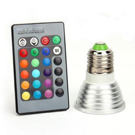 Ampoules LED RGB E27
