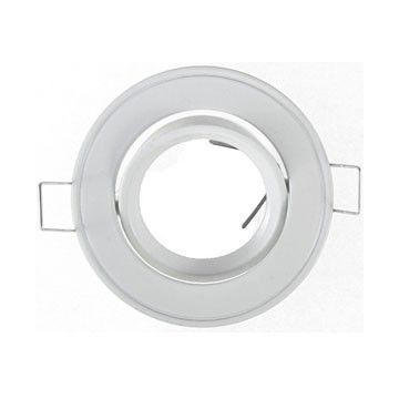 Colerette Vision-EL Rond diamètre 86mm Finition Blanc