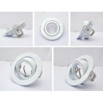 Collerette Orientable Vision-EL blanc rond 93mm
