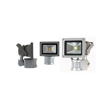 Projecteur Vision-EL avec détecteur  IP65 10W 3000K 8036