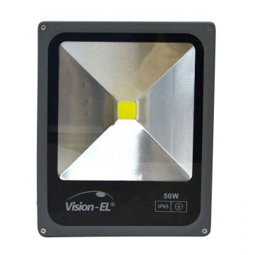 Projecteur LED Plat 50W 6000K Gris VISION-EL 80031