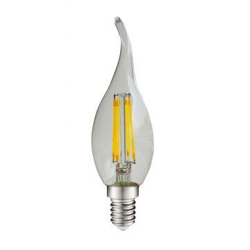 E14 4W coup de vent à filament 2700K