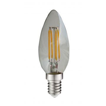 E14 4W flamme à filament 6000K