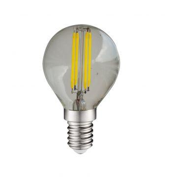 Ampoule LED E14 4W 6000K sphérique à filament 7134