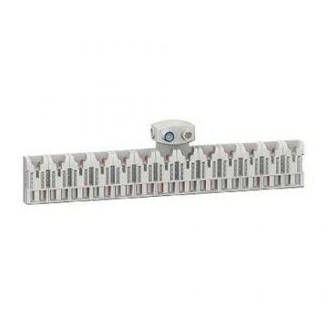 SCHNEIDER Districlic XE Répartiteur d'alimentation 13 modules avec connecteur