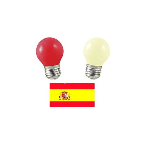 Equipe d'Espagne en LED