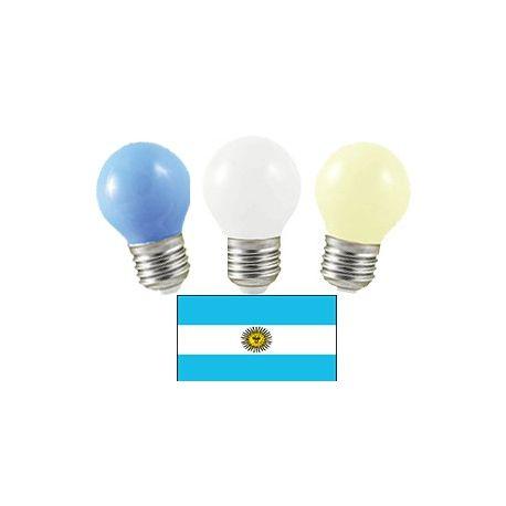 Equipe d'Argentine en LED
