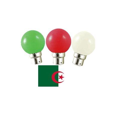Equipe d'Agérie en LED