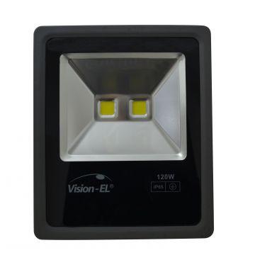 Projecteur LED Plat 120W 6000K Gris VISION-EL 80451