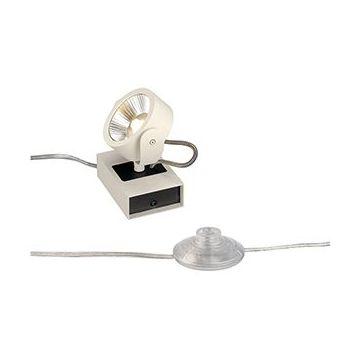 KALU FLOOR 1 LED. à poser. blanc/noir. LED 10W. 3000K