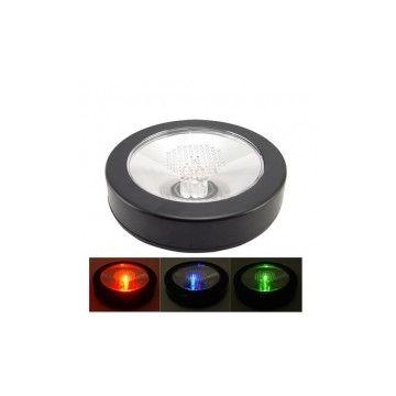 Sous verre lumineux LED RGB sur piles RL062411