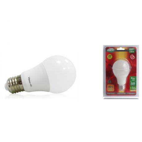 Ampoule LED E27 4W 3000°K BULB VISION-EL 7680B