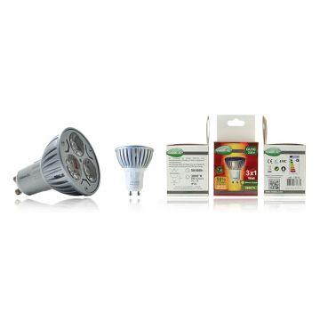 Ampoule LED Vision-EL Globe GU10 3W 3100K 7351C