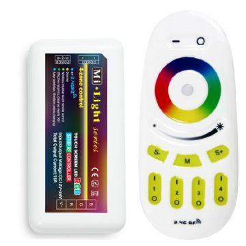 Télécommande RGB+W dimmable + controleur
