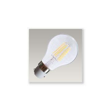 Ampoule LED COB à finaments B22 8W2700°K