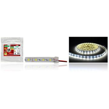 Strip LED 5M 7,2W/M 64000K
