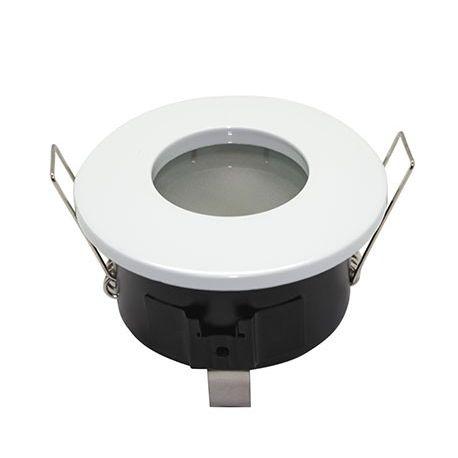 Collerette ronde blanche étanche 82mm