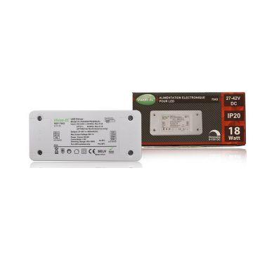 Alimentation électronique pour LED Vision-EL 18W 27-42V dimmable 0-10V DC