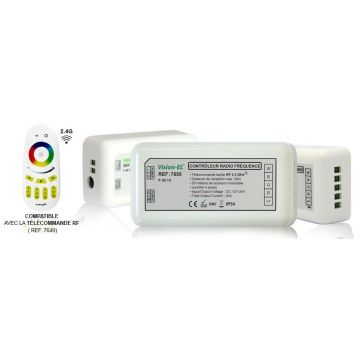 Controleur télécommande RGB + Blanc