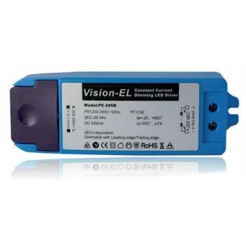 Alimentation électronique pour LED Vision-EL 18W 29-34V dimmable 420 mA max